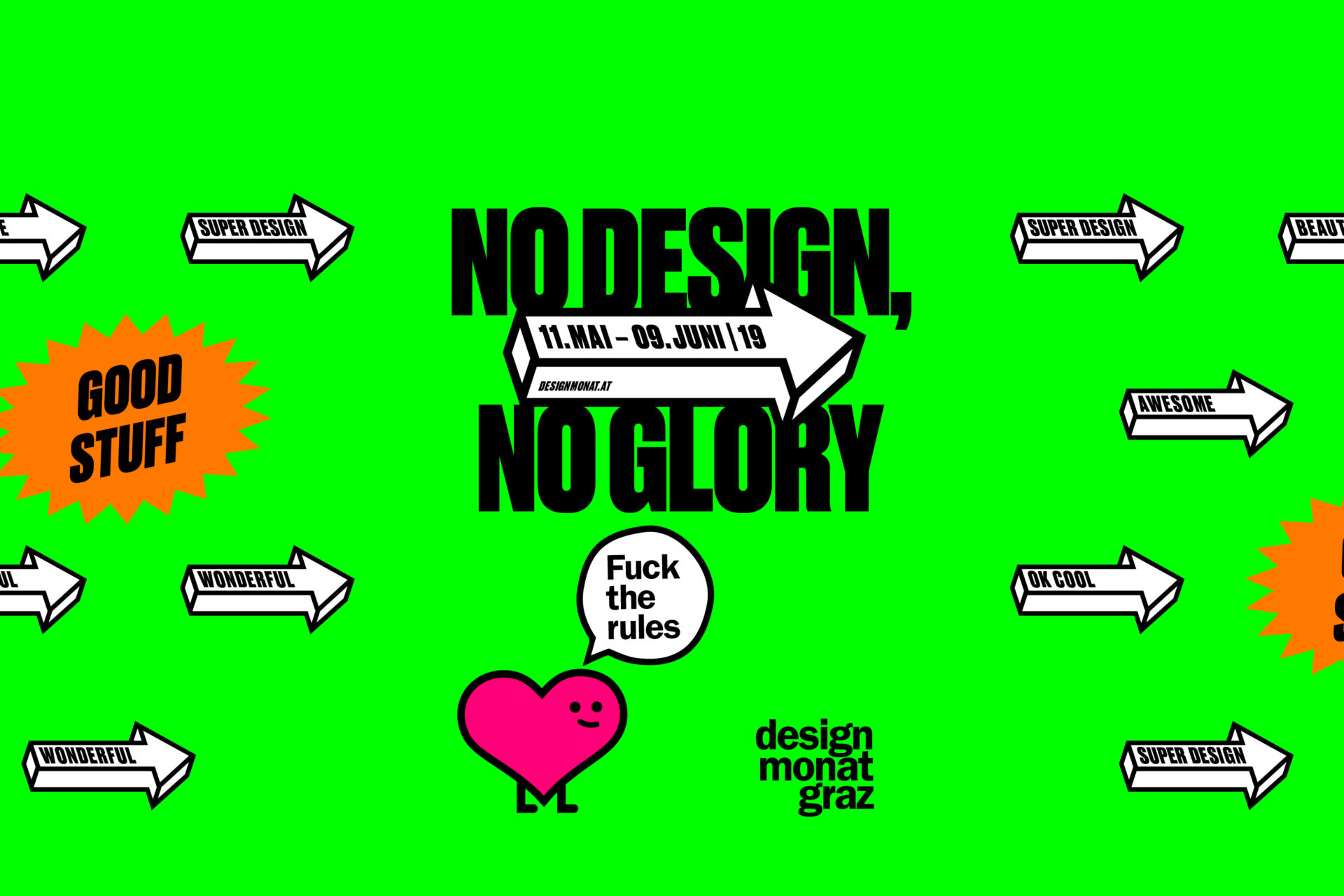 No Design, no Glory als Motto für den DMG19